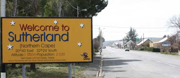Places to See in Sutherland - Northern Cape South Africa