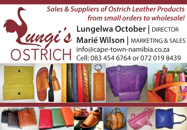 LUNGI'S OSTRICH LEATHER PRODUCTS