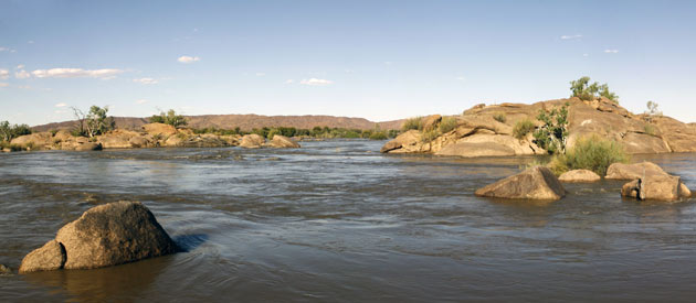 Onseepkans is a small settlement on the banks of the Orange River in Northern Cape Province of South Africa